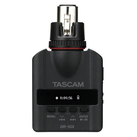 Tascam DR-10X Plug-On Micro Linear PCM Recorder (XLR)