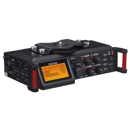 Tascam DR-70D 4-Track PCM Recorder for DSLR Video Production