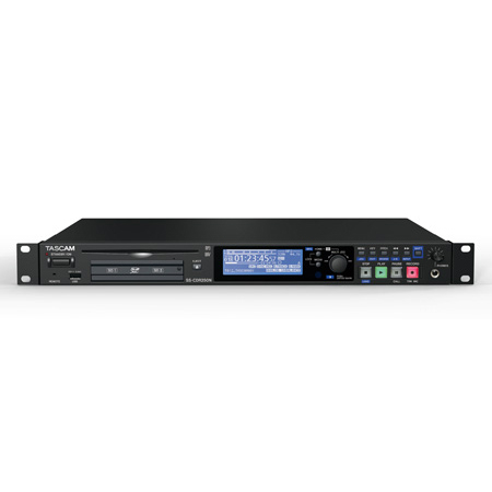 Tascam SS-CDR250N 2-Channel Solid-State Networking CD and Media Recorder
