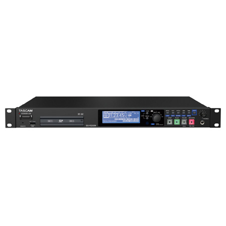 Tascam SS-R250N Solid-State Memory Recorder with Networking and Optional Dante Support