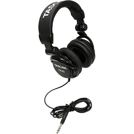 Tascam TH-02B Closed-back Stylish Headphone - Black
