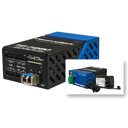 Fiberplex TD-7280-L5B Line Level Stereo Audio Over Fiber Transceiver - Singlemode - 1300nm - 20km LC