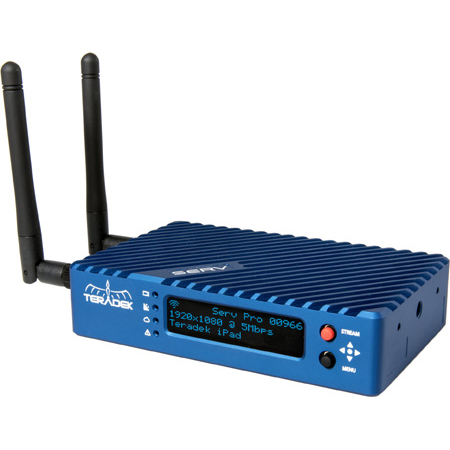 Teradek Serv Pro Miniature SDI/HDMI Video Server GbE WiFi