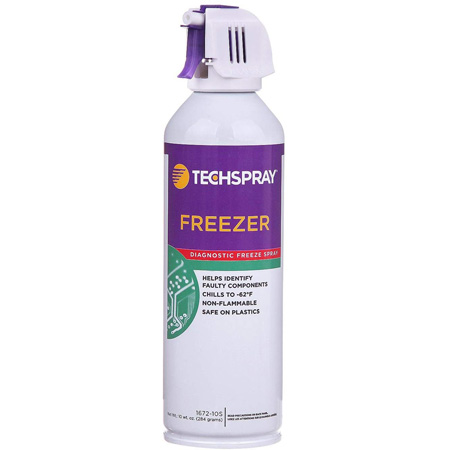 Techspray 1672-10S Freezer Diagnostic Freeze Spray 10 Ounce