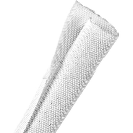 Techflex FF6W1.00WH-100 - F6 Woven Harness Wrap 1 Inch Diameter - White - 100 Foot