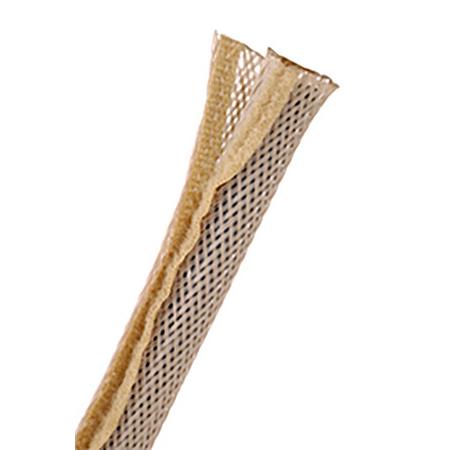 Techflex FWN1.25BE 100 1.25 Inch ID FlexoWrap 100 Foot Roll - Beige