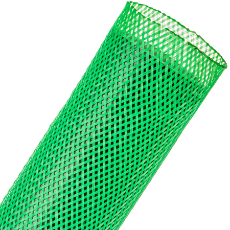 Techflex Flexopet 2 Inch Expandable Tubing - Neon Green - 200 Foot