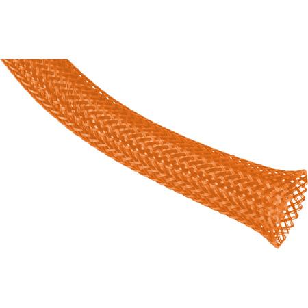 Techflex PTN-3.00NO Flexopet 3 Inch Expandable Tubing- 100 Foot Spool - Neon Orange