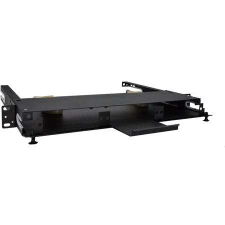 TechLogix ECO-RDU-1RU-P3 Rack-Mount Distribution Unit 1 RU with 3 Panel Slots and ID Labels