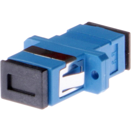 Techlogix S1-SC-F-SC-F Fiber Optic Coupler - Simplex Singlemode Female SC to Female SC