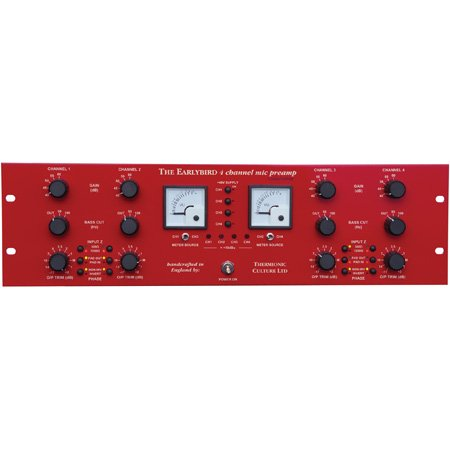 Thermionic Culture EARLYBIRD 4 - 4 Channel Pre-amp