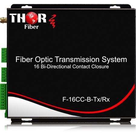 Thor Fiber Contact Closure or TTL over Fiber- 16 Bi-Directional - 12.4 Miles / 20km