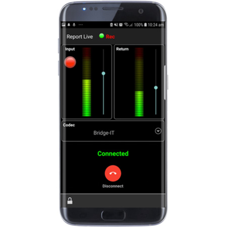 Tieline TLREPORTIT-SIP Mobile IP Audio Codec App License for SIP Tieserver Subscription Upgrade  - Android/iOS