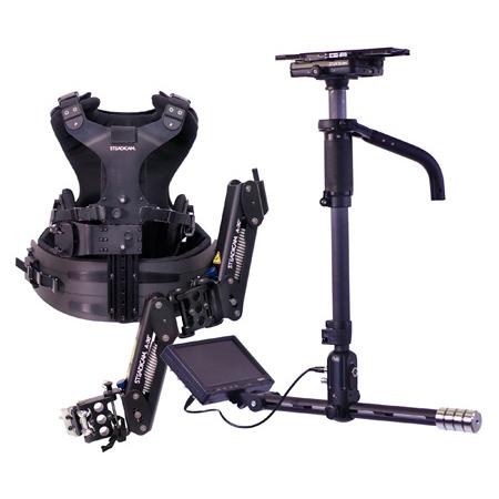 Steadicam A-HDAB30 Aero Camera Stabilizer Sled with Anton Bauer Batt Mount & 7-Inch Monitor/A-30 Arm/Zephyr Vest