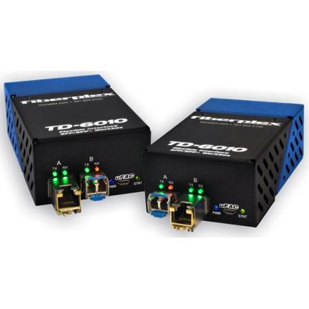 Fiberplex TKIT-DANTE-M DANTE/AVB Networked Audio over Fiber Extender Kits (2-Pack)