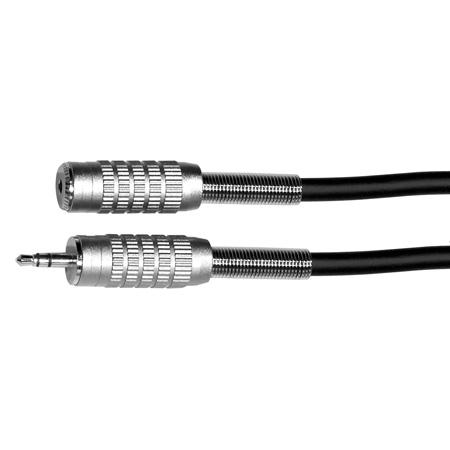 Connectronics Premium Stereo Mini Male - Stereo Mini Female Audio Cable - 3ft