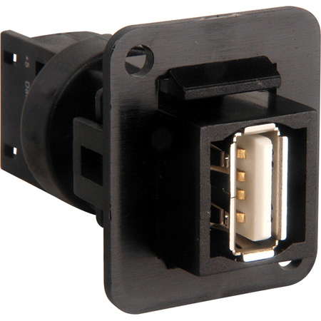 Connectronics Solderless USB Type A Over Cat5e or Cat6 D Series Mount