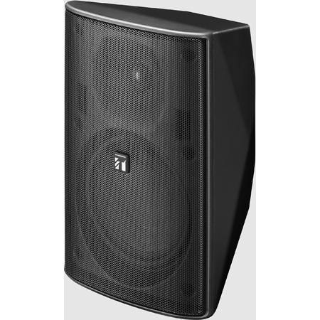 TOA F-1300BTWP 5 Inch 2-way 30 Watt Weather-Resistant Surface Mount Outdoor IP4X Speaker - Black