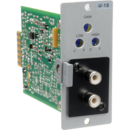 TOA U-13S Unbalanced Line Input with High/Low Cut Filters and Mute-Receive with removable terminal block