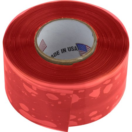 Tommy Nitro Tape 20 Mil 1 Inch x 10 Foot Roll - Red
