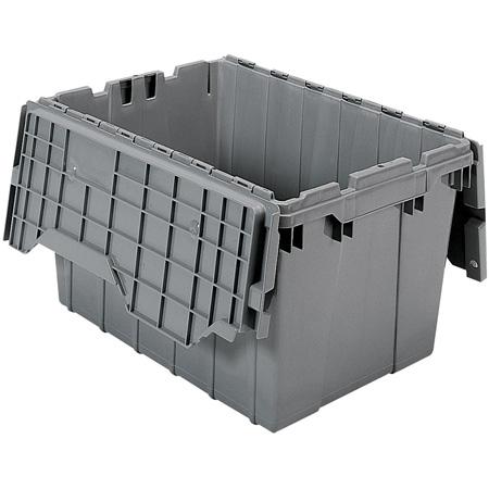 22in x 15in x 12.5in (12 gallon) Grey Tote
