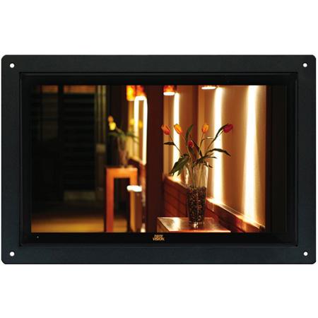 ToteVision LED-1566HDTL Flush-Mount 15.6 Inch TV/Monitor 16:9 ATSC/QAM Tuner 1920x1080 HDMI VGA AV IN YPbPr