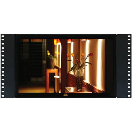 ToteVision LED-1566HDTR Rack-mounted 15.6 Inch 16:9 ATSC/QAM Tuner LCD Monitor