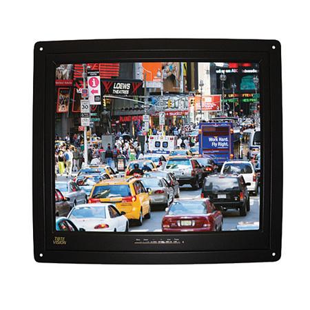 ToteVision LED-1709HDL 17 Inch LED-Backlit 1080I/P HDMI LCD Flush-Mount Monitor