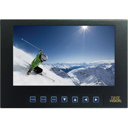 ToteVision LED-711-4K 7-Inch 1920x1200 LCD Monitor - Displays 4K and UHD