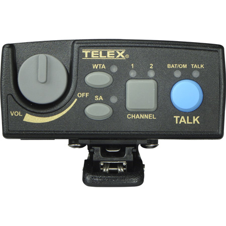 Telex TR-80N-A1 Belt Pack A4M Headset Jack A1 BAND