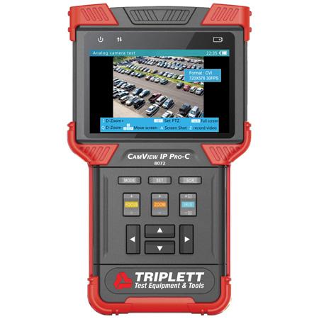 Triplett 8073 CamView IP Pro- D Security Camera Tester