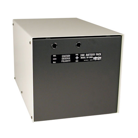 Tripp Lite BP-260 Battery Cabinet with Cables - Holds (2) 98-121 Batteries