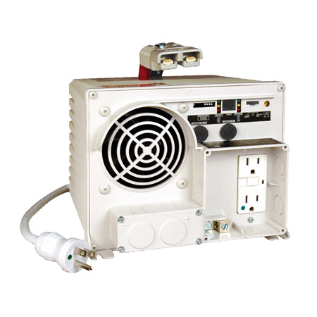 Tripp Lite EMS1250UL 1250W Ambulance / EMS Inverter/Charger 12VDC 120VAC 14/55A 2 Outlet