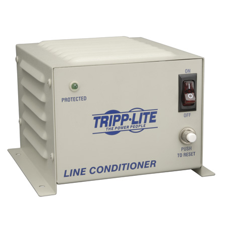 Tripp Lite LS604WM Line Conditioner 600W Wall Mount AVR Surge 120V 5A 60Hz 4 Outlet