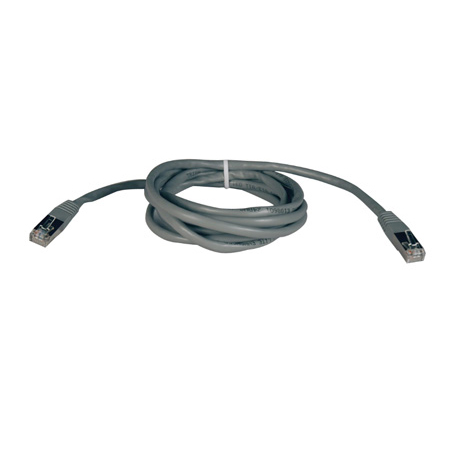 Tripp Lite N105-050-GY Cat5e 350MHz Molded Shielded Patch Cable STP (RJ45 M/M) - Gray 50 Feet
