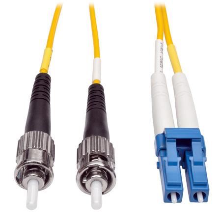 Tripp Lite N368-01M Duplex Singlemode 8.3/125 Fiber Patch Cable (LC/ST) 3 Feet