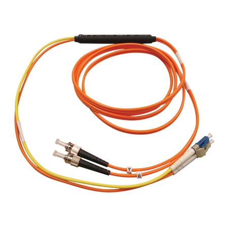 Tripp Lite N422-01M Fiber Optic Mode Conditioning Patch Cable (ST/LC) 3 Feet