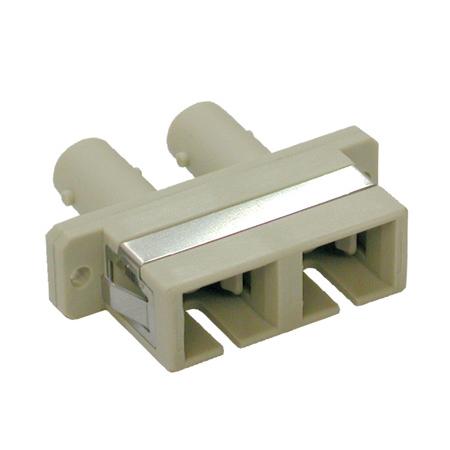 Tripp Lite N456-000 Duplex Multimode Fiber Coupler (SC/ST)