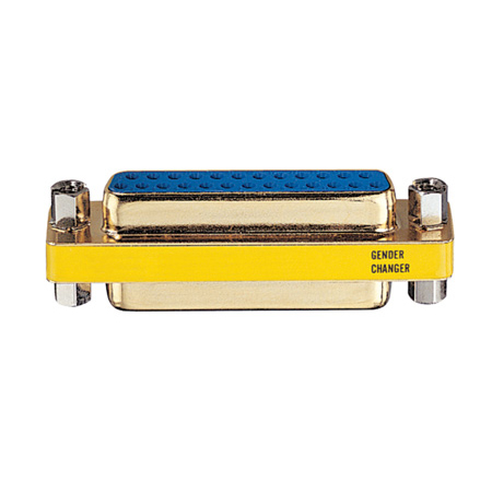 Tripp Lite P154-000 Compact/Slimline DB25 Coupler Gender Changer  (F/F)
