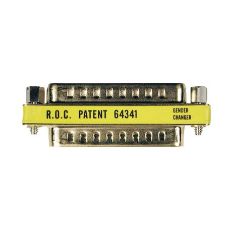 Tripp Lite P156-000 Compact/Slimline DB25 Gender Changer (M/M)