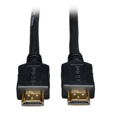 Tripp Lite P568-100-HD Standard Speed HDMI Cable 24 AWG High Definition 1080p Digital Video - Audio Cable (M/M) 100 Feet