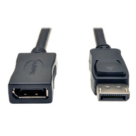 Tripp Lite P579-006 DisplayPort Extension Cable with Latches (M/F) 6 Feet