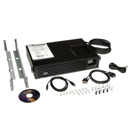 Tripp Lite SM1500RMXL2UTAA 1500VA 1000W UPS Smart Rackmount AVR 120V USB DB9 2URM TAA GSA