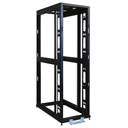 Tripp Lite SR42UBMDEXPND 42U 4-Post Open Frame Rack Cabinet 36 Inch Depth No Sides or Doors