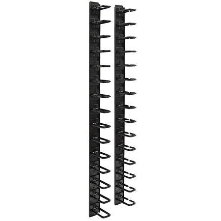 Tripp Lite SRCABLERINGVRT Rack Enclosure Cabinet 6ft Horizontal Cable Ring Flexible