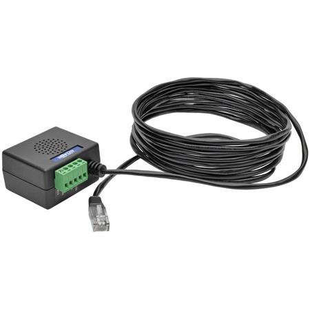 Tripp Lite TLNETEM Environmental Monitoring Sensor Temperature Humidity Contact-Closure Inputs for Use with TLNETCARD