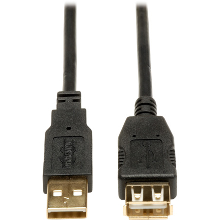 Tripp Lite U024-006 USB 2.0 Hi-Speed Extension Cable (A M/F) 6 Feet