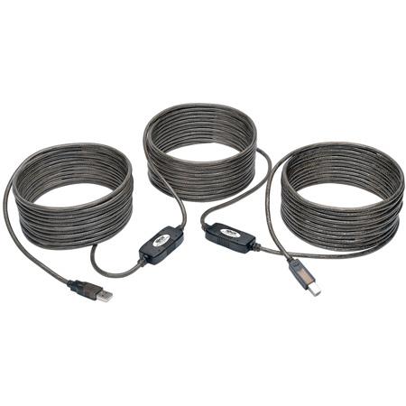 Tripp Lite U042-050 USB 2.0 Hi-Speed A/B Active Repeater Cable (M/M) 50 Feet