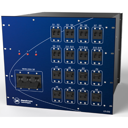 Theatrixx TLD232C Electrical Distribution System LD-232-C (9RU)
