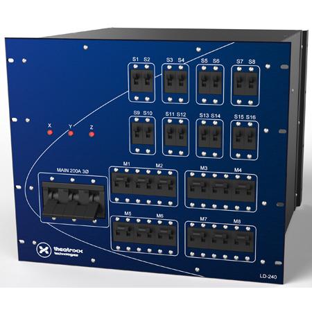 Theatrixx TLD240C Electrical Distribution System LD-240-C (9RU)
